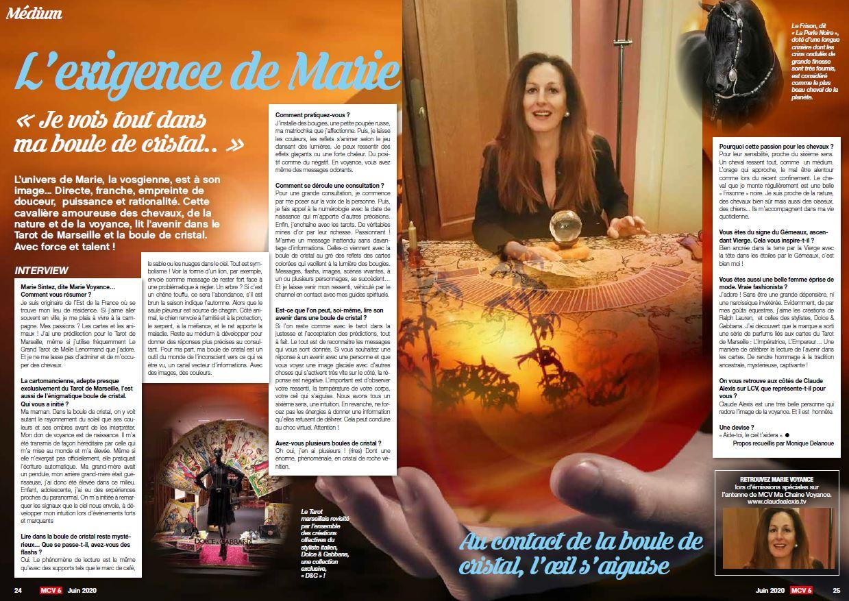 Interview marie